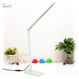 Wholesale Led Desk Ac - Wholesale-7W Flexible 48 LEDS SMD 2835 Desk lamp Energy Saving Adjustable Table Lamps Reading Light