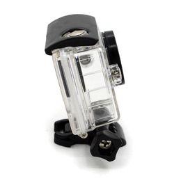 Argentina ¡EN STOCK! Xiaomi Xiaoyi Yi cámara de acción a prueba de agua del caso de buceo 40 m caja deportiva Xiaoyi Sport cámaras accesorios de la caja envío gratis Suministro