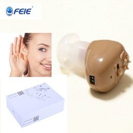 Wholesale Hearing Amplifier Rechargeable - USB Hearing Aid Rechargeable Enhancement Deaf Sound Amplifier S-102 Cheap Price Free Shipping