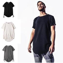 Wholesale Kpop Fashion Men - Mens fashion kanye west hip hop t shirt tyga swag clothing men justin bieber tee shirts streetwear kpop rock yeezus tshirt homme