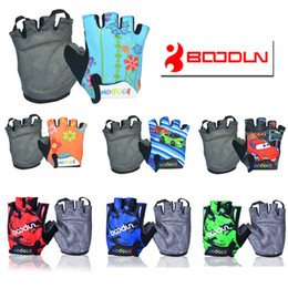 Wholesale Child Cycle Glove - BOODUN CHILDREN KIDS PADDED CYCLING BICYCLE BIKE CYCLING BMX GLOVES RACING RIDING M  L