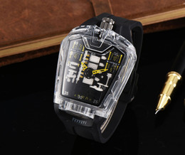 Wholesale Center Strap - 2017 the latest version of the silicone strap sports brand military center clock calendar reloje man watches the freedom of man's leisure2