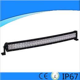 lumières 4x4 super brillantes Promotion 33inch 180W super lumineux LED barre de lumière de route incurvée LED lampe de travail spot faisceau d'inondation faisceau ffroad camion 4x4 ATV lampe