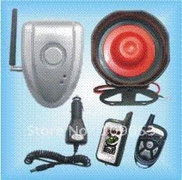 Sirene de alarme de carro sem fio on-line-Nenhum sistema de segurança em dois sentidos do alarme do carro da instalação DIY auto com sirene sem fio do alarme e nenhuns fios conecta ao carro