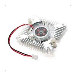 Wholesale Video Cards Pc - Wholesale- CAA Hot PC VGA Video Card 2 Pin 55mm Cooler Cooling Fan Heatsink 4800 RPM