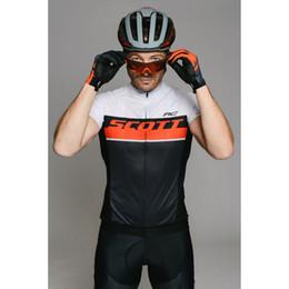 Wholesale Team Sky Pro Cycling Jersey - 2017 Customization Scoot Cycling Jersey Short Sleeve Jersey Bib Shorts Set Pro Team Sky Cycling Clothing Maillot Bike Bicycle Wear