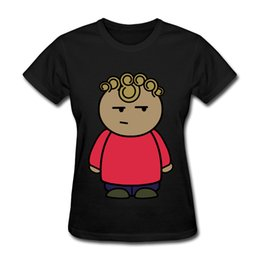 Wholesale Summer Cartoon Tops For Ladies - 2017 Summer and Autumn Shirt For Women Cotton Funny Cute Cartoon Print T-shirts Clothing For Women and Ladies Tops T-shirts
