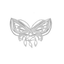 Herr der Ring Arwen Butterfly Brosche Pins Silber Animal Design Brosche für Frauen Drop Shipping von Fabrikanten