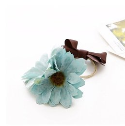 Mode fleur cheveux tête de bandes avec multicolore bandeaux pony tails titulaire pour les filles et les femmes livraison gratuite ? partir de fabricateur