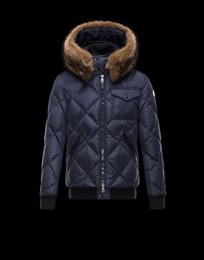 Wholesale Men S Dress Hats - top quality M 2017 Fur Hat Winter White Duck Down Jackets Men casual Outdoors Warm Parka Men's dress outerwear coats