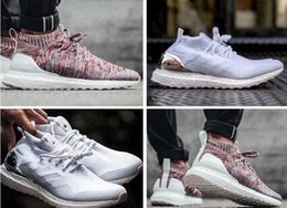 Wholesale Women X Sports - KITH x Ultra Boost Mid Aspen Multicolor Triple White Ultraboost Primeknit Women Men Running Shoes Originals Ultra Boost Uncaged Sports Shoes