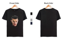 Wholesale New Retail Products - (wholesale retail) 2017 new products: Stranger Things, Stranger Things, nose-blood boy character printed short-sleeved T-shirt