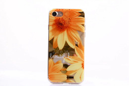 Wholesale Iphone Love Flower Case - For Iphone 8 8G 7 Plus 7Plus I7 Poke Pikachu Soft IMD TPU Case Cartoon Marble Rock Flag Tiger Flower OWL Love Sexy Girl Dandelion Cover Skin