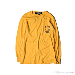 Wholesale Swag Clothing - New Arrival Swag Men Clothing Kanye West I Feel Like Pablo Hip Hop Hoodie Sweatershirts Tops Sizes S-2XL