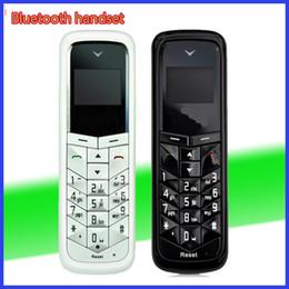 Wholesale Gsm Dialer Wireless - BM50 bluetooth mini mobile phone 0.66inch with GSM Network Bluetooth Dialer headset Universal mini headphone mini unlocked phone