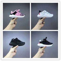 Wholesale Core Equipment - 2017 hot sale kid EQT Equipment Support ADV Boost Parent-child shoes Cheap Running Shoes Sneakers Primeknit Core Sports Shoe size 26-35