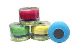 Su geçirmez Kablosuz Bluetooth Taşınabilir Duş Hoparlör Renkli iphone x 8 7 6 artı 5 samsung HTC MP3 MP4 nereden kare bluetooth tedarikçiler
