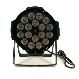 Wholesale Led Par Can Lights - Aluminum alloy LED Par 18x18W RGBWA+UV 6in1 LED Par Can Par led spotlight dj projector wash lighting stage lighting
