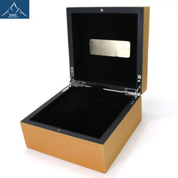 Wholesale Panerai Watches - Factory Supplier Wholesale 2016 Mens For Panerai Watch Box Original Wooden Inner Outer Woman's Watches Boxes Papers Wristwatch