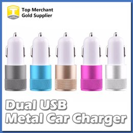 iphone adapter for sale Coupons - Best Sale Metal Dual USB Port Car Adapter Charger Universal 12 Volt 1Amp for Apple iPhone iPad iPod Samsung Galaxy Moto Nokia Htc