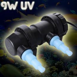 Wholesale Pond Water Filter - JEBO 9W 500L H UV Sterilizer Lamp Light Ultraviolet Filter Water Cleaner Clarifier For Aquarium Pond Coral Koi Fish Tank