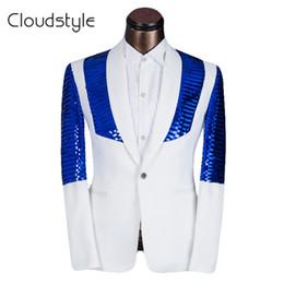 Wholesale Design Dance Pants - Wholesale-2016 Brand Clothing Men Suit Latest Coat Pant Designs Wedding Suits With Pants For Men Performance Dance Costomes Size XS-6XL
