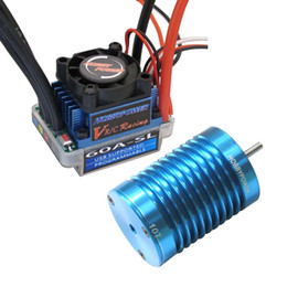 Wholesale brushless controller motor car - HP 60A ESC Brushless Speed Controller + 10T 3900KV BL Motor for 1 10 1 12 RC Car