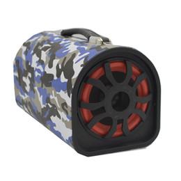 Wholesale subwoofer 12v - Wholesale- 12V super power car woofer with box subwoofer wireless bluetooth speaker