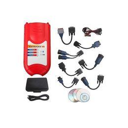 Wholesale Nexiq Bluetooth - ALKcar Wireless VXTRUCKS V8 USB Link Nexiq 125032 Bluetooth VXTRUCKS V8 Nexiq USB Link 125032 Adapter for multi-brand trucks