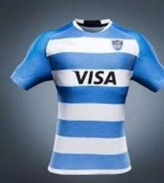 Wholesale Flash Football - 2017 Argentina Jaguares Rugby Jerseys Futbol Camisa Football Camisetas Shirt Kit Maillot Maglia Trikot 2018 Argentina rugby Jerseys