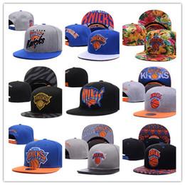 Wholesale Snapback Caps New York - 2017 New York Adjustable Porzingis Snapback Hat many Snap Back Hat For Men Basketball Cap Cheap Knicks Hat Adjustable men women Baseball Cap