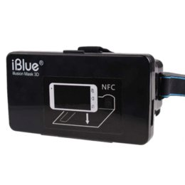 "Wholesale Video Glasses For Sale - 2015 Hot Sale! Plastic Virtual Reality 3D Video Glasses for 3.5 to 6"" Phone Google Cardboard With NFC Movie Cinema Convenient"