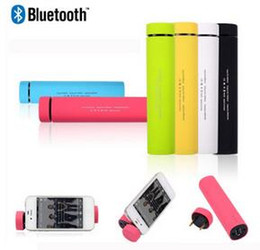Wholesale Cheap Metal Buttons - New Cheap Hot Bluetooth speaker with 4000 mAh battery Phone holder wireless speakers Handfree Mic Stereo Portable Speaker power Tube Speaker