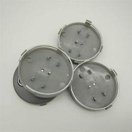 Wholesale audi wheel center - car accessories 60mm SILVER BLACK Car Wheel Covers for Audi Standard Wheel Center Caps for Item No 4B0 601 170