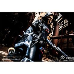 Masken geknebelt online-Neuheit Gag Spielzeug der neuen Qualitäts-PVC-Schablonen-Partei Cosplay-Kostüm-Stütze für Videospiel Reaper
