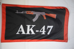 Wholesale Flags Banners Promotional - Ak-47 Advertising Promotional Flag Banner 3X5
