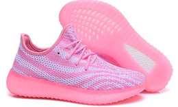 Wholesale Girls New Design Shoes - 2016 new Primeknit design Woman 550 Sneakers Running Shoes,Hot Selling girl Boost 350 Shoes,cheap Season 3 premier Get Your Own Fashion Shoe
