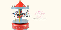 Wholesale Horses Music - Carousel music box student gift idea of children music box toy