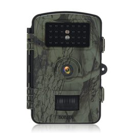 Wholesale Surveillance Cards - RD1003 Camouflage outdoor hunting camera HD infrared night vision waterproof hunting surveillance camera hunting machine