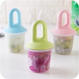 Wholesale Making Hand Cream - Creative Household Kitchen Ice Cream Molds Non-toxic DIY Popsicle Hand Made Ice Cream Mold Making Box Hot Sale