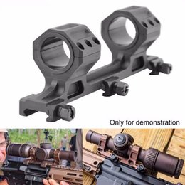 Wholesale Rails Double - 25mm to 30mm Double Cantilever Heavy Duty Scope Mount fit 20mm Picatinny Rail(ht055)