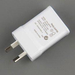 Wholesale Iphone Charger Australia - Australia New Zealand good quality 5V 2A AU Plug USB AC Power wall home charger for Samsung Galaxy Note 2 3 4 5 N7100 S5 S4 S6 S7 100pcs