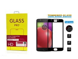 Wholesale Zte Blade Covers - For Moto E4 ZTE Blade Zmax Z982 Zmax Pro Z981 Metropcs Full Cover Tempered Glass For LG Aristo Google Pixel 2 XL
