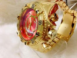 Wholesale Round Spots Mm - 5 Colors Spot! No Calendar Quartz Watch Waterproof Luxury Gold Wristwatches Men's Watch Stylish Golden Crown Large Dial Sport Clock
