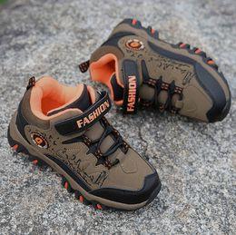 Wholesale Girl Shoes Size 31 - Winter Children Hiking Shoes Boys Girls Teenager Outdoor Sports Shoes Kids Walking Boots Climbing Sneakers EU size 31- 40