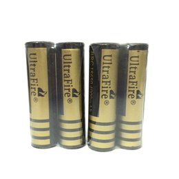 Wholesale Rechargeable Battery Protected - 2pcs lot BRC 18650 Battery 3.7V 4000 mAh protected li-ion rechargeable Battery