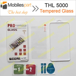 Wholesale Thl New Free Shipping - Wholesale-THL 5000 Tempered Glass 100% New Original Screen Protector Film Phone Case for THL 5000 4400 in Stock Free Shipping