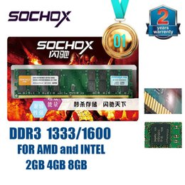 Wholesale Ddr3 4g Desktop - China sales top 1 Brand New Sealed Sochox DDR3 1333Mhz  1600MHZ 2GB 2G 4GB 4G 8GB 8G for Desktop RAM Memory