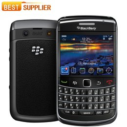 Wholesale Blackberry 3g Mobile - Original 9780 Blackberry phone Camera 5.0MP single core cellphone GPS WIFI 3G Refurbished Mobile phone