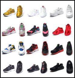 Wholesale Shoe Laces Light Kids - Air Huarache sneaker I for kids running shoes for children Authentic sneakers unisex sport shoes youth Huaraches trainers sneakers EUR 28-35